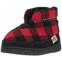 Western Chief Kids' Plush Slip-on Outdoor Boot Slipper