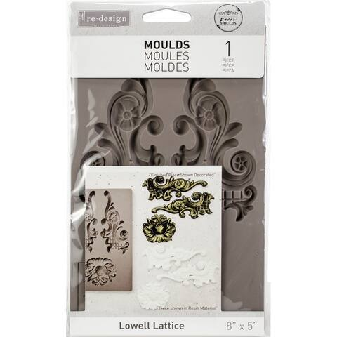 Prima Re-Design Decor Mould-Lowell Lattice