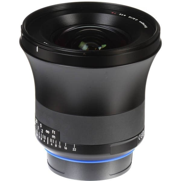 Zeiss Milvus 15mm f/2.8 ZE Lens for Canon EF