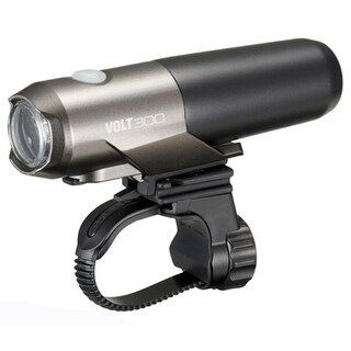 CatEye Volt 300 Cycling Safety Light with Helmet Mount - HL-EL460RC