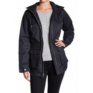 Columbia NEW Black Womens Size Large L Adventure Hour Raincoat Jacket