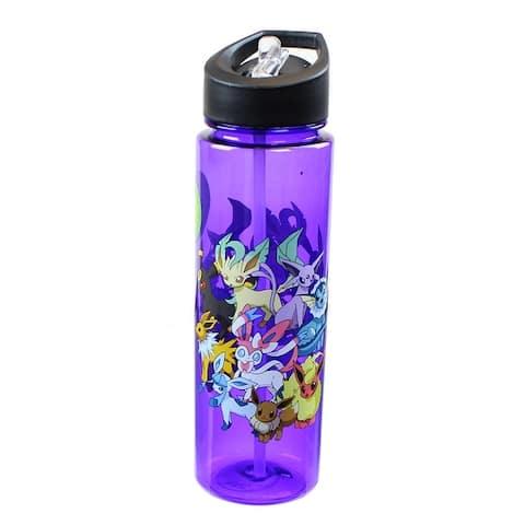 Pokemon Eevee Evolution 16oz Water Bottle - Multi