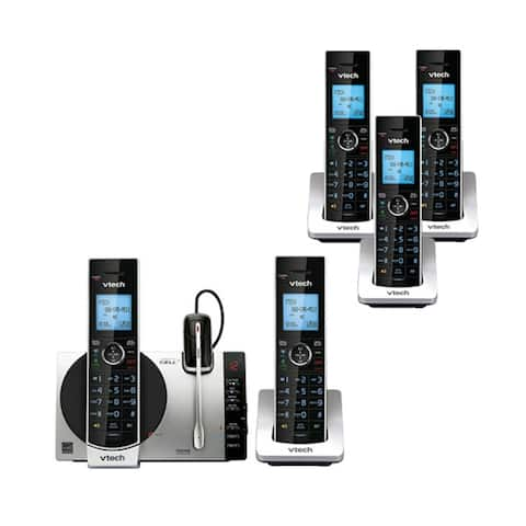 VTech DS6771-3 with DS6072-3 Cordless Phone w/ 5 Cordless Handsets