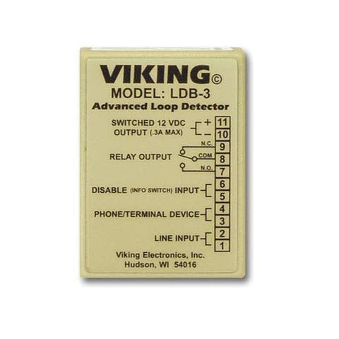 Viking ldb-3 loop and ring detector board