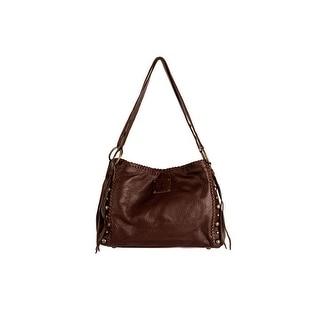 "StS Ranchwear Western Handbag Womens Maggie Mae Zipper Brown STS30563 - 10""t x 14""w x 8""d"
