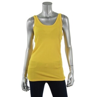 Zara W&B Collection Womens Scoop Neck Ribbed Knit Tank Top - M