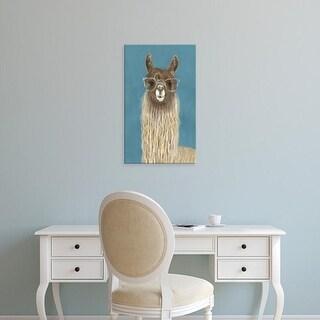 Easy Art Prints Victoria Borges's 'Llama Specs IV' Premium Canvas Art