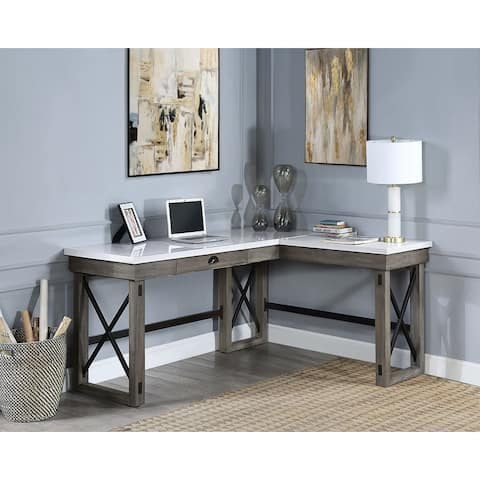 Talmar Writing Desk with Lift Top in Marble Top