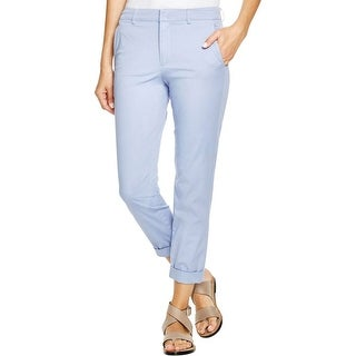 Vince Womens Khaki Pants Colored Pockets