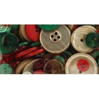 Vintage Christmas - Button Bonanza .5Lb Assorted Buttons