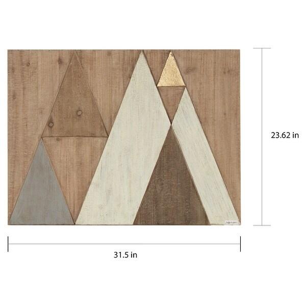 Carson Carrington Tapa Natural Wood Wall Decor