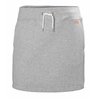 Helly Hansen Womens Naiad Skirt Grey Melange - L