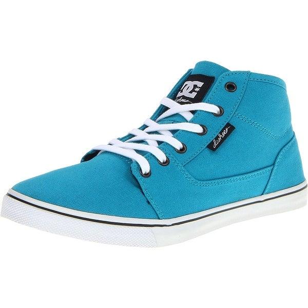 DC Women's Bristol Mid Canvas Fashion Sneaker - 10