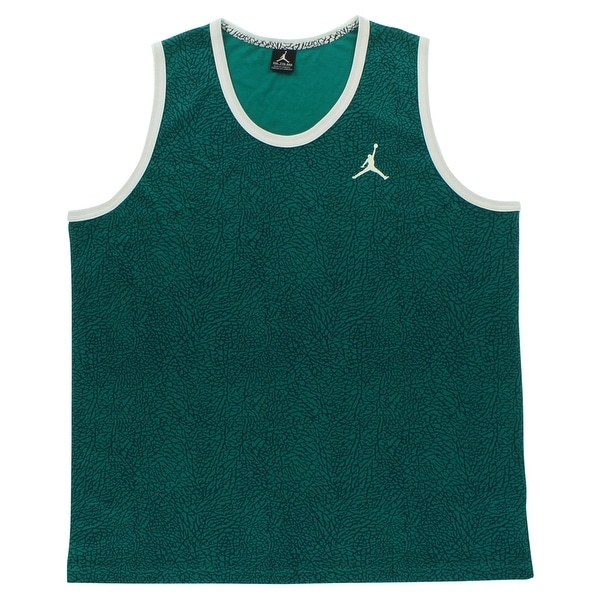 98daffca61d9 Shop Nike Jordan Mens Fly Elephant Tank Top Teal - Teal Navy White -  2X-Large - Free Shipping On Orders Over  45 - Overstock - 25683231