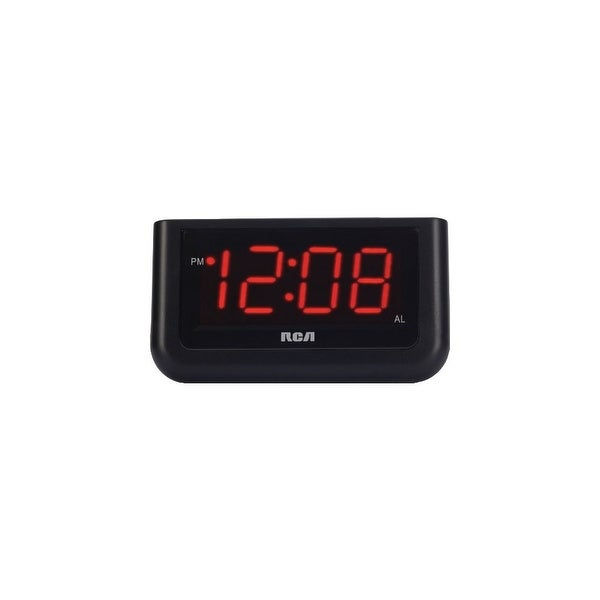 GE/RCA RCARCD30b RCA RCD30 High Quality Alarm Clock with 1.4-Inch red LED display