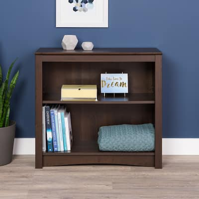 """2-shelf Bookcase - 31.5"""" W x 29"""" H x 13"""" D"""