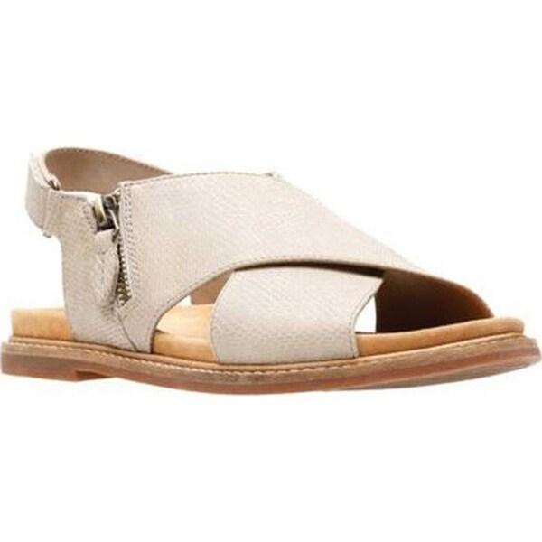 Shop Clarks Women S Corsio Calm Sandal Sand Leather Free