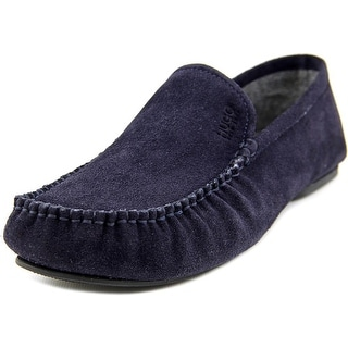 Boss Hugo Boss C-Home Men Round Toe Suede Blue Loafer