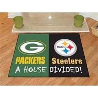 NFL - 34 in. x45 in.  - NFL - Green Bay Packers - Pittsburgh