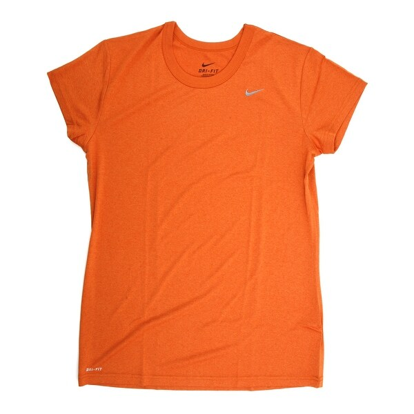 2af899f7ff554 Shop Nike Women's Short Sleeve Performance Tee Shirt Orange X-Small - Free  Shipping On Orders Over $45 - Overstock - 21294102