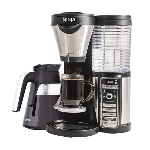 Ninja CF080Z Coffee Maker 43oz Glass Carafe and Tumbler (Certified Refurbished)