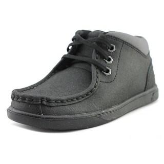 Timberland Groveton Moc Toe Youth Moc Toe Leather Black Chukka Boot