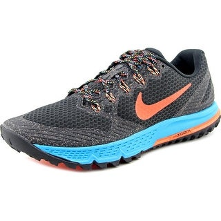 Nike Air Zoom Wildhorse 3 Women Round Toe Synthetic Black Trail Running