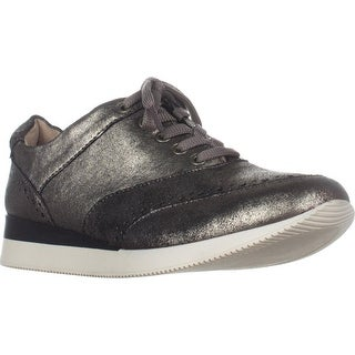 naturalizer Jimi2 Wedge Fashion Sneakers, Zinc/Pewter (Option: Extra Wide)