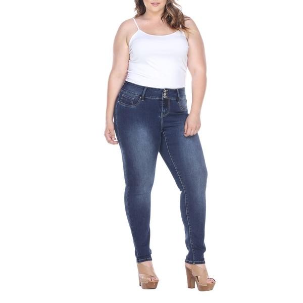 7d9ab87b4b302 Shop Plus Size Super Stretch Denim Jeans - Free Shipping Today ...
