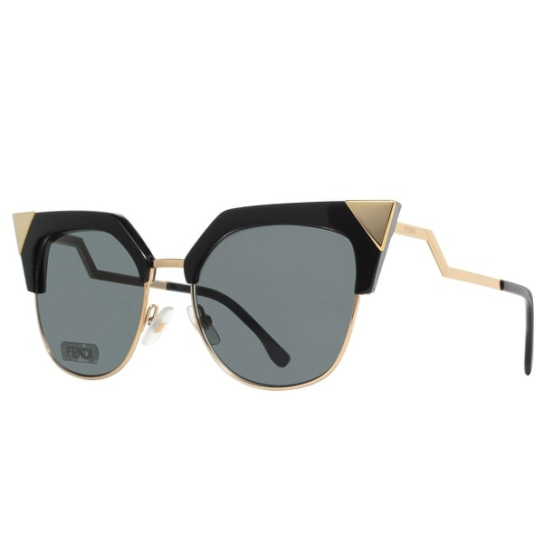 c8844549fd ... Women s Sunglasses     Fashion Sunglasses. Fendi FF 0149 S REW P9 Shiny  Black Gold Iridia Women  x27