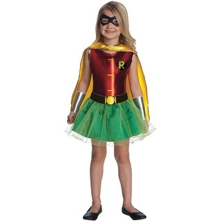 Rubies Robin Tutu Toddler/Child Costume - Red/Green