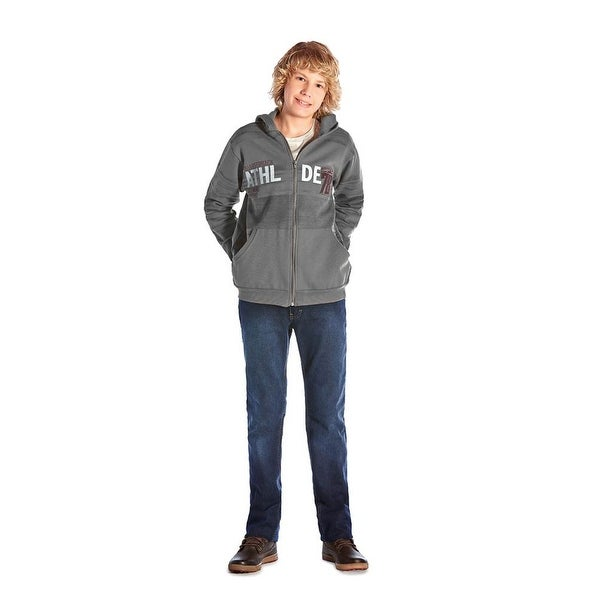Tween Boy Hoodie Sweater Zip-Up Jacket Teen Clothes Pulla Bulla Size 10-16 Years