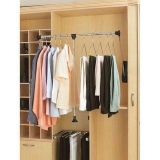 "Rev-A-Shelf CPDR-2635 CPDR Series 26"" - 35"" Pull-Down Closet Rod"