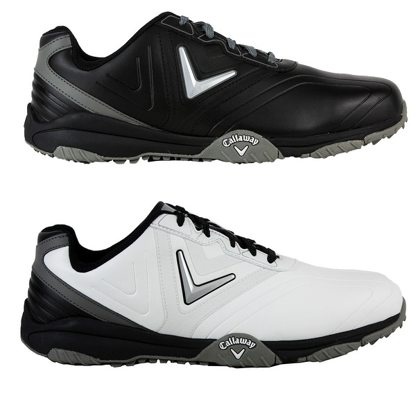 6f65e4e812e7b Shop Callaway Men s Chev Comfort Golf Shoes - Free Shipping Today -  Overstock - 23573047