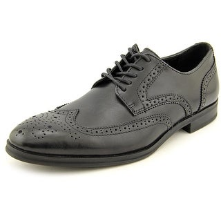 Alfani Miller Men Wingtip Toe Leather Black Oxford