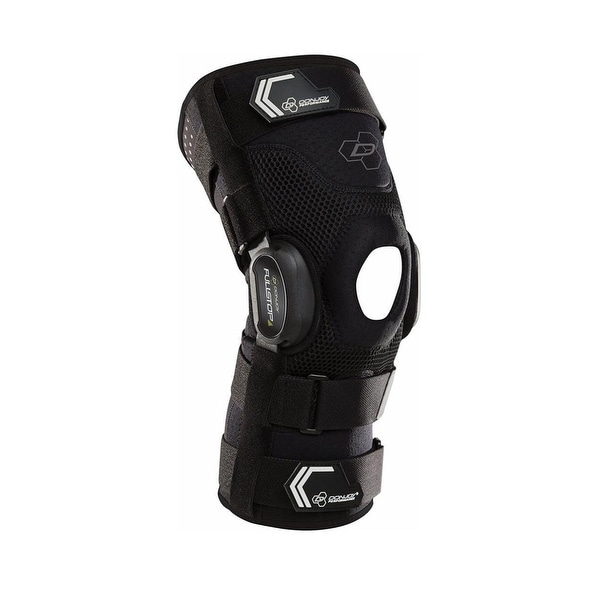 87af648923 Shop DonJoy Performance Bionic Fullstop Knee Brace (Black/Large) - Black -  Large - Free Shipping Today - Overstock - 26443328
