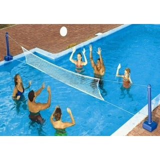 Water Sports Cross Volleyball Swimming Pool Game - Weighted Net Supports