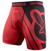 Hayabusa Recast Series Compression Shorts - Red/Black - mma boxing grappling