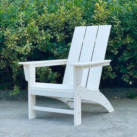 Highland Poly/Resin Morden Adirondack Chair