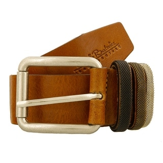 Renato Balestra Y043 CAMMELLO Camel Leather Mens Belt