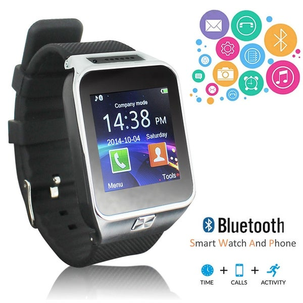 NEW 2017 Bluetooth SmartWatch & Phone (GSM unlocked) + Built In Camera + SMS/Call Reminder