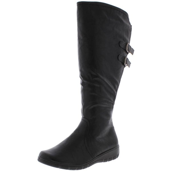 Easy Street Womens Tess Mid Calf Boot,