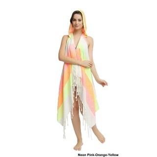Eshma Mardini Swimwear Bikini Hooded Cover-Up Beach Dress - Hoodie