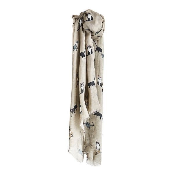 Women s Fashion Scarf - Bunches of Cats Print - 72