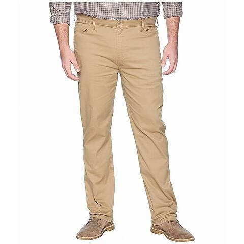Dockers Men's Pants Beige Size 52X30 Jean-Cut Classic-Fit Stretch