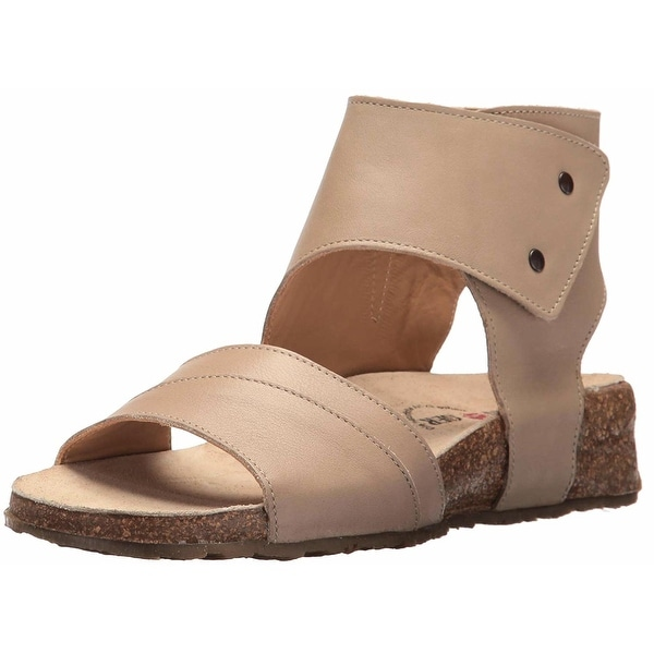 Haflinger Womens Maxine Open Toe Casual Ankle Strap Sandals - 7.5