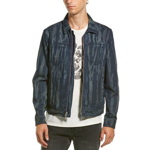 John Varvatos Star U.S.A. Lucas Zip Up Trucker Jacket