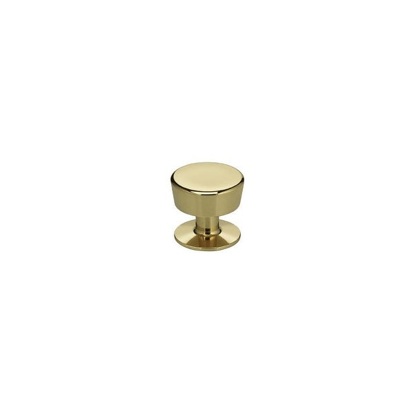 "Omnia 9151/25 Classic & Modern 1"" Diameter Mushroom Cabinet Knob. Opens flyout."