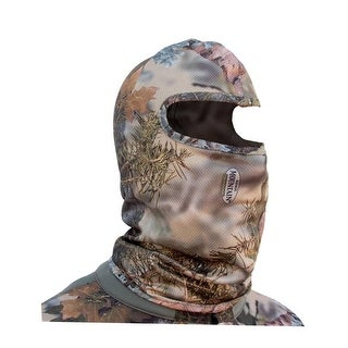 Kings Camo Poly Hood Hunting Mask Mountain Shadow One Size