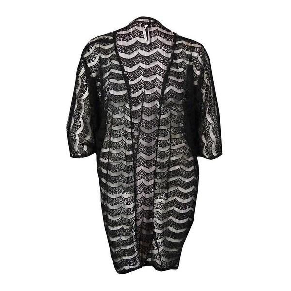 7ff313d80b Shop Kenneth Cole REACTION Women s Sheer Lace Kimono Swim Cover ...